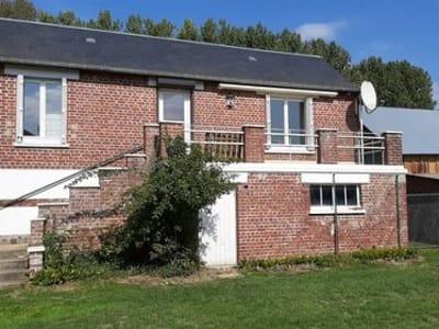 Maison de plain pied située à Aumale