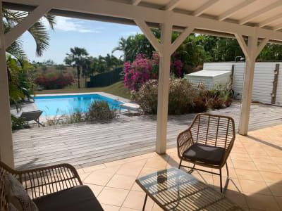 Maison meublée 3 chambres avec piscine