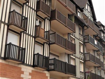 DEAUVILLE DEUX PIECES 46 m² PROCHE GARE