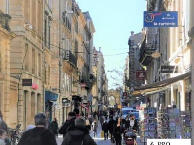 Boutique Bordeaux hyper centre emplacement n°1 bis 110 m²