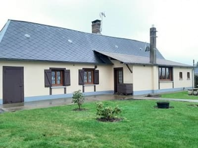 Maison de plain pied située entre Aumale et Forges les Eaux