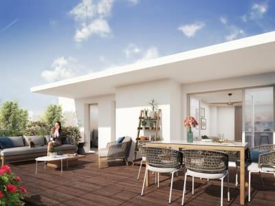 Castelnau le Lez NEUF T2 42m²+ Terrasse 8m² + Garage