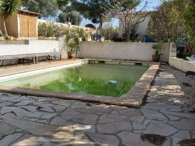 Belle maison de 128 m² sur 914 m² de jardin , VUE MER  hauteur 1