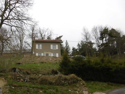 A négocier maison de village  sur 850m2 de terrain vue impre