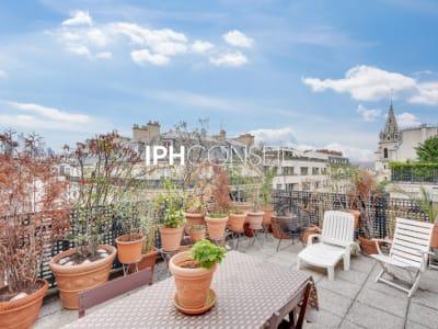 4  pièces dernier étage avec terrasse 43 m²
