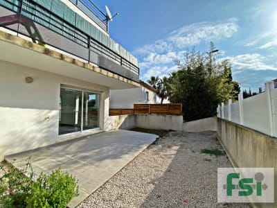 Appartement avec jardin et garage à Beziers - 4 pièces - 72 m²