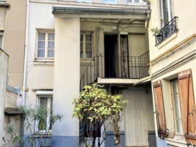 Paris 18 - 2 pièce(s) - 19 m2