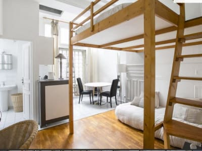 Appartement rénové Paris - 24.87 m2