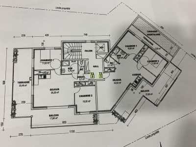 Gap - 3 pièce(s) - 63.3 m2