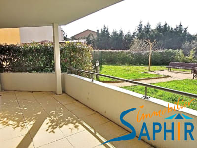 Apt T2 de 40 m²  avec  grande terrasse de 12 m².