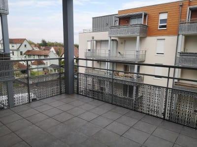 Appartement Eckbolsheim - 1 pièce(s) - 27.9 m2