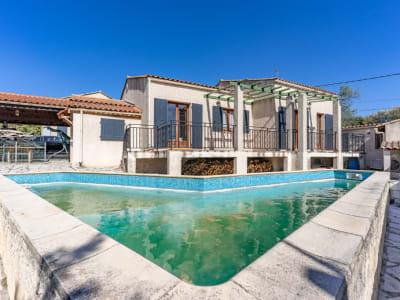 Maison de type 3/4 + Maison de type 2 avec piscine chauffée , le