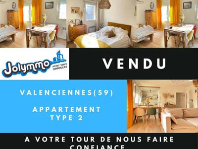 Appartement 2 pièces VALENCIENNES - Neuf Bourg avec parking !