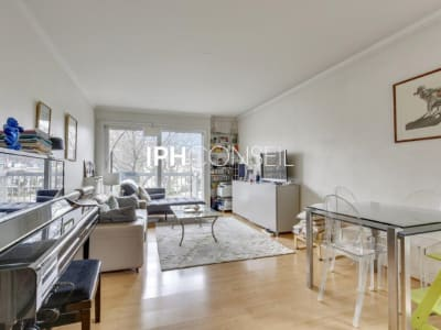 Appartement Neuilly Face Jatte Seine  3 pièce(s) 74 m2