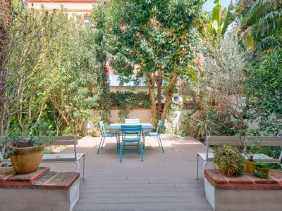 Maison Bourgeoise 220 m²  au coeur des Chalets - Jardin