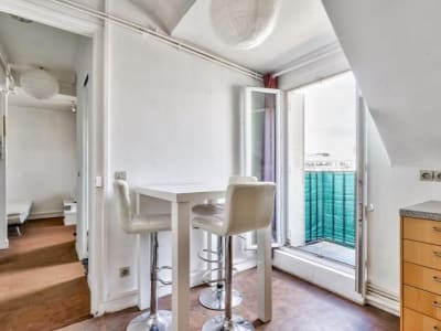 Paris - 2 pièce(s) - 19 m2 - 7ème étage