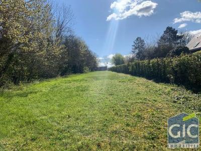 A vendre terrain constructible vendu viabilisé nord de Caen hors