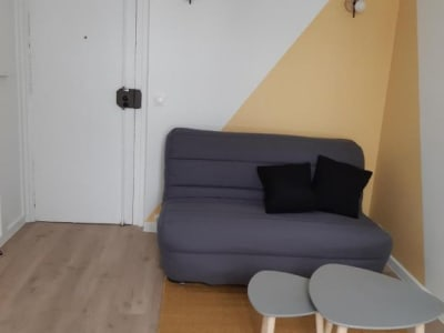 Appartement rénové Paris - 1 pièce(s) - 12.97 m2
