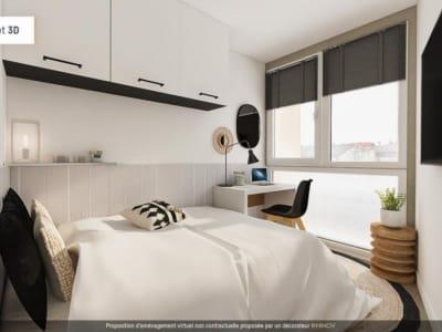 Bordeaux - 1 pièce(s) - 14.5 m2 - 2ème étage