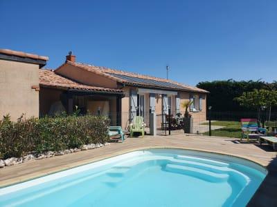 Jolie Villa T4/5 de plain-pied 115 m² avec piscine.