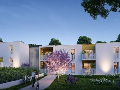 Programme Neuf Montpellier T3 62m²+Terrasse 5.60m²+Parking SS