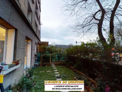 Appartement Boulogne Billancourt 4 pièces 3 chambres jardin 60m²