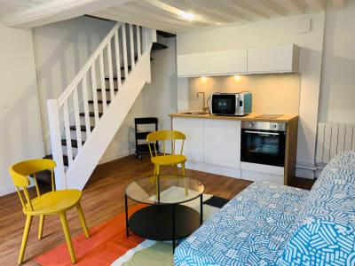 CAEN - RUE CAPONIERE 2P meublé 33.17 m2