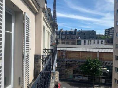 Appartement Paris - 2 pièce(s) - 44.82 m2
