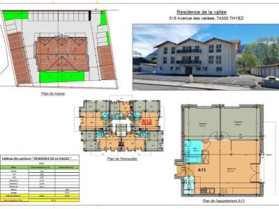 Thyez - 3 pièce(s) - 63 m2 - 2ème étage