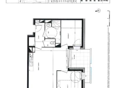 Appartement Nantes 3 pièce(s) 64 m2