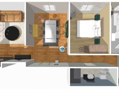 Montmorency - 3 pièce(s) - 57 m2