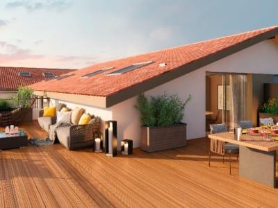 Appartement 4 pièces 90m² + 76m² de terrasse