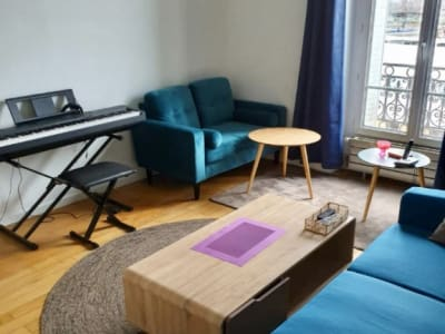 Bel Appartement 3 pièces situé en face de la gare RER D
