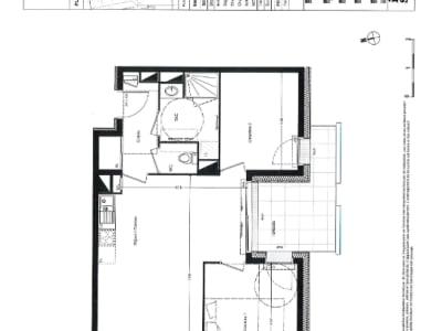 Appartement Nantes 3 pièce(s) 63.60 m2
