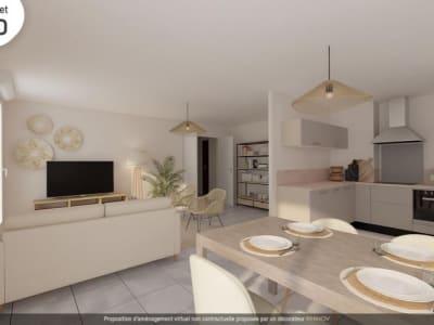 Grenoble - 3 pièce(s) - 66.35 m2 - 1er étage