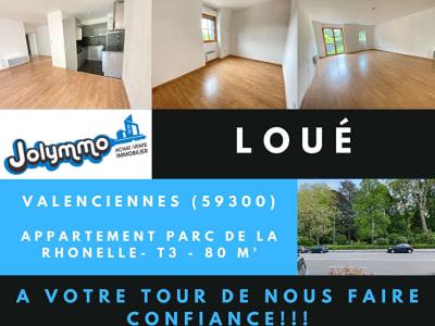 Appartement Valenciennes 3 pièce(s) 79.11 m2 -  Quartier Rhônell