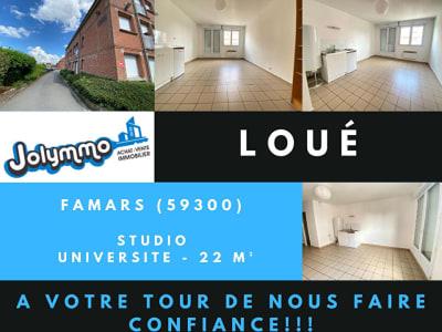 STUDIO - 24m2 - Proche Université