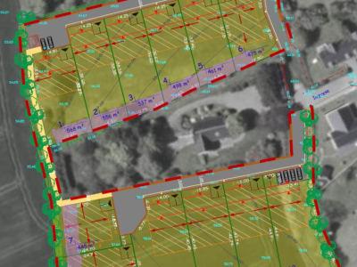 PLONEOUR-LANVERN - Terrain de 537 m²