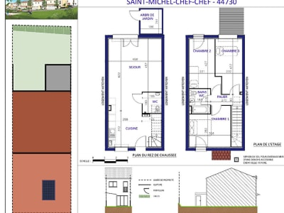 Maison Saint Michel Chef Chef 4 pièce(s) 78 m2