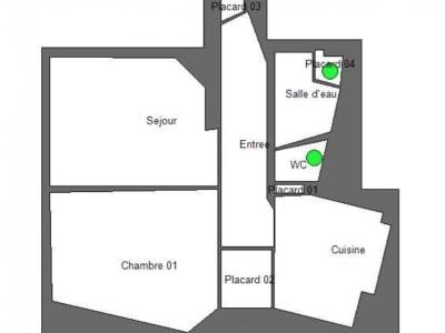 Paris - 2 pièce(s) - 48.11 m2 - 3ème étage