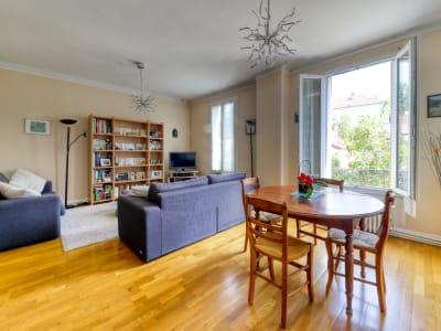 Appartement  3 /4 pièces avec jardin partagé et cave double