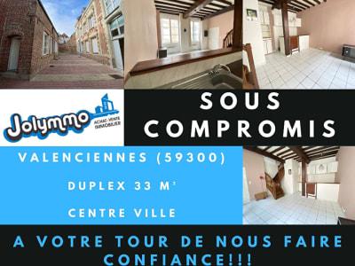 Duplex 33 m² Valenciennes Centre