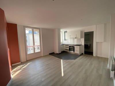 Appartement rénové Paris - 2 pièce(s) - 39.72 m2