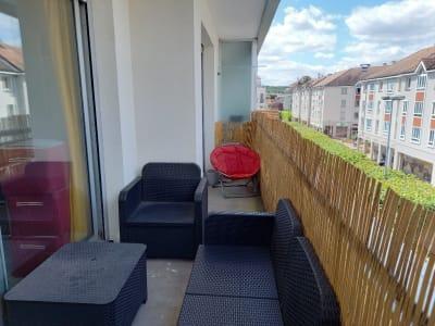 Appartement 2 pièces avec balcon en plein centre ville