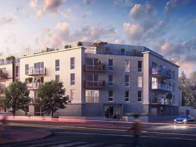 Appartement récent Dijon - 2 pièce(s) - 37.3 m2