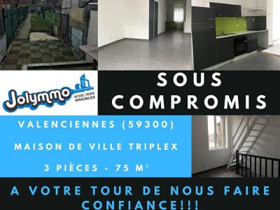 Triplex avec jardin ! Valenciennes - Saint Waast 75m²