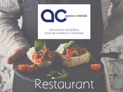 Restaurant en centre ville avec belle terrasse