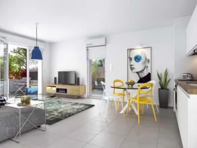 Erstein - 2 pièce(s) - 43.35 m2 - 1er étage