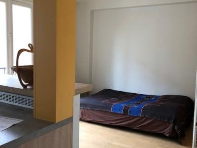Studio avec balcon, meublé