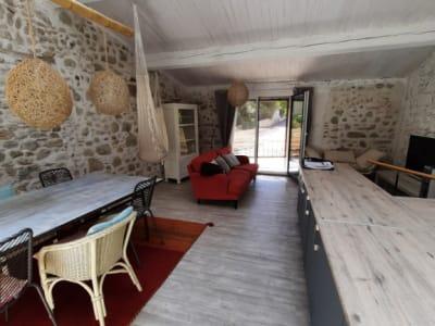 Maison de village meublée  en duplex de type 2
